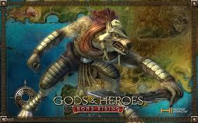 rome rising greek mythology monster