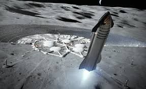 SpaceX wants to land Starship on the Moon before 2022, then do ...