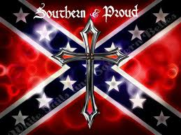 Southern And Proud Rebel Flag Sticker Custom Wall Graphics