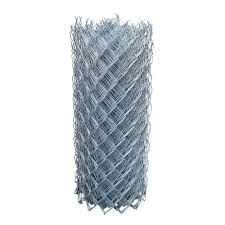 Protecto Fence Cyclone 4 Ft X 1 5 Ft 12 5 Gauge Chain Link Fabric Fence 00 120 004 The Home Depot