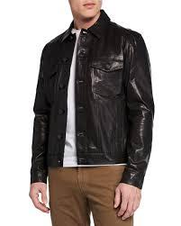 acamar lamb leather jacket