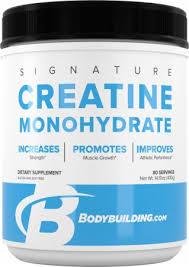 signature creatine monohydrate powder