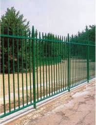 Galvanized Steel Picket Fence Ametco Manufacturing