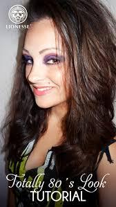 80 s makeup look tutorial lionesse