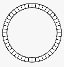 film strip circle frame clip arts