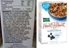 whole food nutrition on food labels