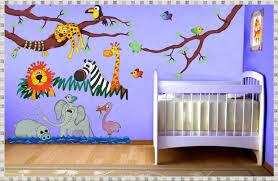 Jungle Wall Decals Kids Room Strangetowne Jungle Wall Decals Design