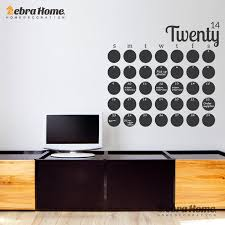 Diy Large Chalkboard Calendar Weekly Wall Decal Sticker Planner Home Decor Art Removable Vinyl Modern Blackboard Mural Wallpaper Chalkboard Calendar Wall Decals Stickersdecoration Art Aliexpress