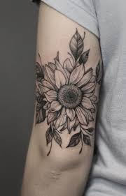 125 Best Sunflower Tattoo Designs In 2020 In 2020 Tatuaz Na