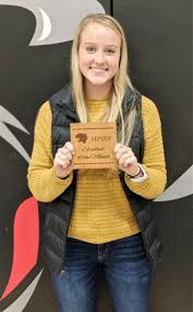 Hershey Public Schools - Abigail Carter- Hershey Foundation November  Student of the Month