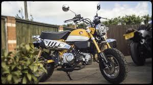 honda monkey bike 125 review 2019 4k