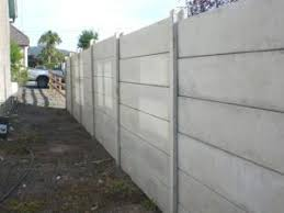 Concrete Fencing Panels And Posts Concrete Fence Concrete Fence Panels Fence Panels