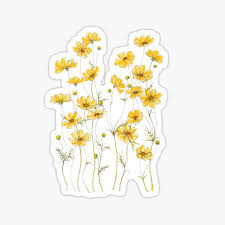 Flower Stickers Redbubble