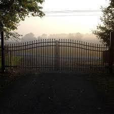 Ornamental Driveway Gates Hoover Fence Co