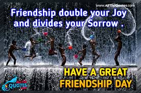 great happy friendship day quotes images