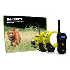 Dog Training Waterproof E Collar With Rechargeable Remote For 1 Or 2 Dogs Walmart Com Walmart Com