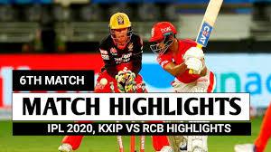VIDEO: KXIP vs RCB highlights ...