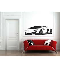 Lamborghini Wall Decal Boys Bedroom Wall Art Sticker Wall Graphics