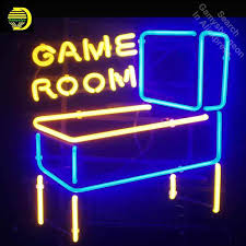 Neon Signs For Arcade Funfairs In Droitwich Bingo Kids Play Neon Bulb Sign Game Room Lamps Handcraft Glass Tubes Art Dropship Neon Bulbs Tubes Aliexpress