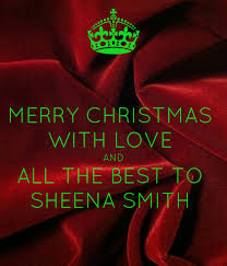 MERRY CHRISTMAS WITH LOVE AND ALL THE BEST TO SHEENA SMITH Poster |  akielaqueen | Keep Calm-o-Matic
