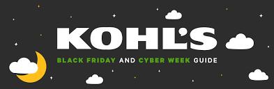 Kohl's Black Friday 2020 Deals