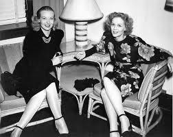 Gloria Stuart and Hillary Brooke