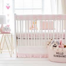 buffalo plaid crib bedding pink new