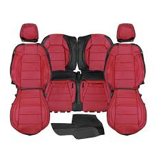 factory style leather seat upholstery