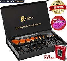 keizerpro premium makeup brush set