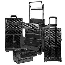 rolling makeup case with drawers uk