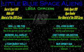 Little Blue Space Aliens Information