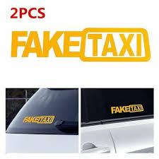 Dad S Taxi Vinyl Decal Car Window Fun Sticker Minivan Father Dad Wagon Service
