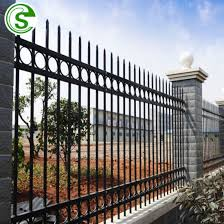 China Standard Steel Picket Fence Ornamental Tubular Fence Suppliers China Steel Picket Fence Prices Steel Fence Residential