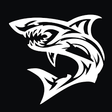 Lazycats Shark Decal For Cars Trucks Home And More Jader948i