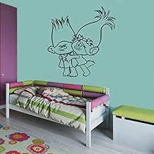 Amazon Com Branch Poppy Trolls Wall Vinyl Decal Home Interior Sticker Kid Room Graphic Child Bedroom Applique Trolls1 Home Improvement