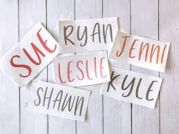 Name Decals Champagne Glass Decal Yeti Name Car Decal Etsy