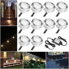 led decking lights waterproof ip67 1w