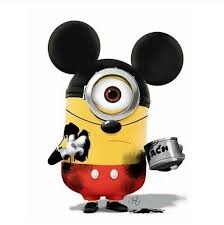 este mickey minion es perfecto on