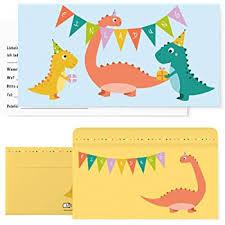 Beidseitig bedruckter karton größe ca : Postkartenschmiede 12 Dino Einladungskarten Geburtstag Dinosaurier Kindergeburtstag Einladung Einladungen Kinder Jungen Dinoparty Set Mit Dinos Amazon De Spielzeug