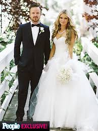 Aaron Paul Married Lauren Parsekian; Inside Breaking Bad Star's Wedding    PEOPLE.com