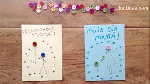 Tarjeta Para El Dia De La Madre Manualidades Para Regalar A Mama