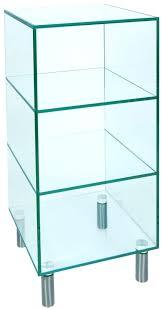 argos home glass shelving unit brass