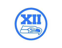Seahawks Xii Vinyl Window Decal Ice Blue 6 Seattle Seahawks 12th Man Ebay