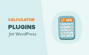 calculator plugins for your wordpress site