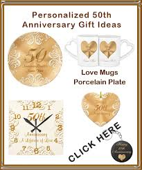 50th wedding anniversary gifts for pas