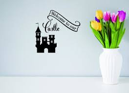 Welcome To Our Castle Decal 20x40 Contemporary Wall Decals By Design With Vinyl