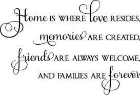 family quotes sayings on life wall decals stickers home