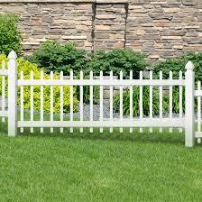 Veranda Chelsea 3 Ft H X 8 Ft W White Vinyl Fence Panel 116083 The Home Depot