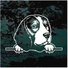 Doggie In The Window Car Decals Stickers Decal Junky