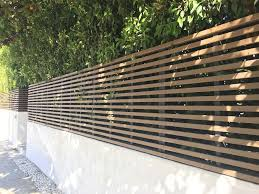 Wall Toppers Privacy Fence Harwell Design Fences Driveway Gates Los Angeles Santa Monica Modern Fence Design Fence Design Modern Fence